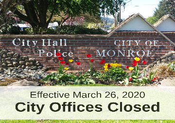 Graphic of City Offices Closed