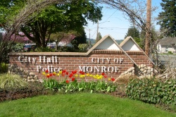 City of Monroe Sign